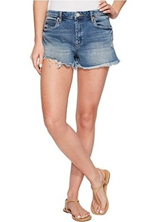Blank NYC High-Rise Wedge Shorts in Thank Me Later