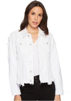 Blank Jean Jacket in Lightbox White
