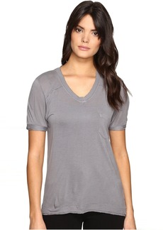 Blank NYC Loose T-Shirt in Grey Matters