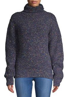 Blank NYC Multicolored Turtleneck Sweater