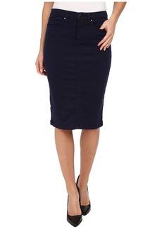 Blank NYC Navy Blue Pencil Skirt