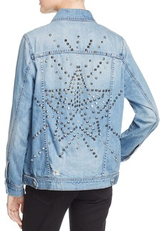 BLANK NYC Oversized & Embellished Denim Jacket - 100% Exclusive