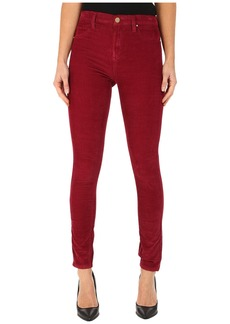 Blank NYC Rose Red Corduroy Skinny in Pop Berry