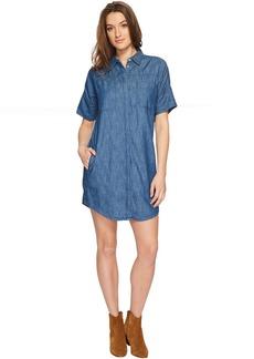 Blank Short Sleeve Shirtdress in Fatal Attraction