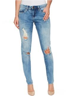 Blank Skinny Classique Jeans in Medium Wash Blue