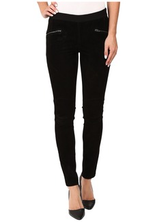 Blank NYC Suede Pull-On Skinny in Shadows