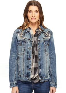 Blank NYC Summertime Blues Jacket in Blue