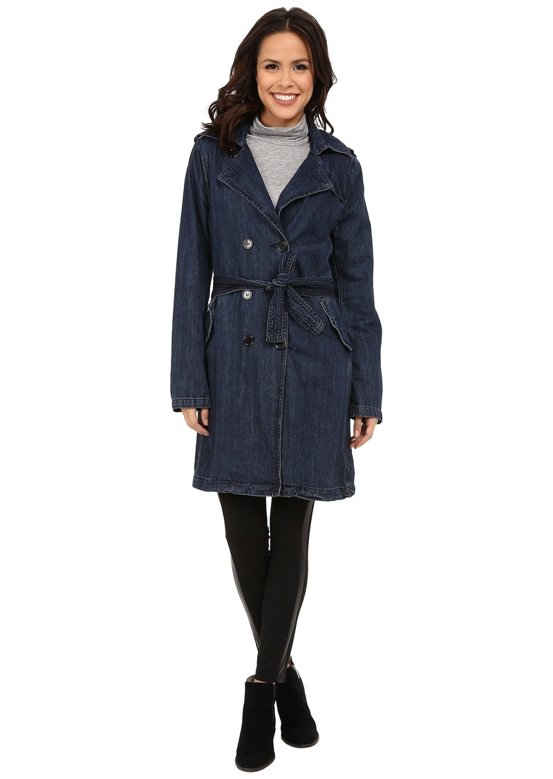 Blank NYC Trench Coat with Belt