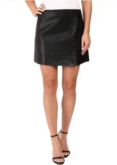 Blank NYC Vegan Leather Mini Skirt in Break The Ice