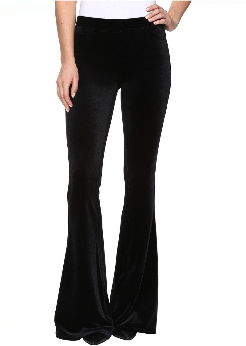 9284bf5805498 Blank Blank NYC Velvet Black Pull-On Flare in The New Black