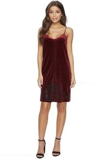 Blank NYC Velvet Dress in Velvet Rope