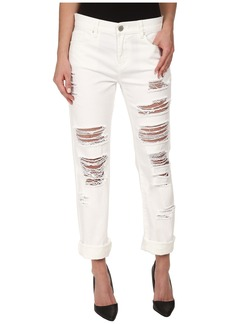 Blank NYC White Relaxed Straight Ripped in As If