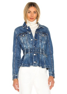 BLANKNYC Belted Denim Jacket
