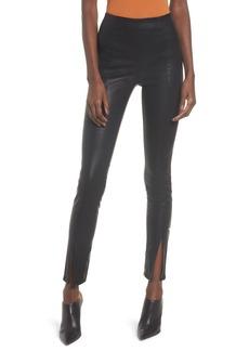BLANKNYC Black Magic Faux Leather Leggings