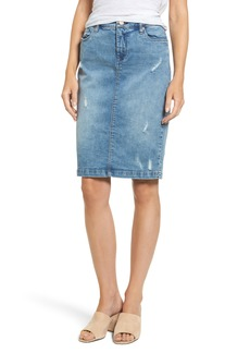 BLANKNYC Block Party Jean Skirt