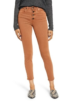 BLANKNYC Button Fly Jeggings (Sierra Rust)