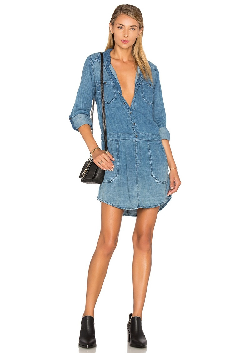BLANKNYC Button Front Dress