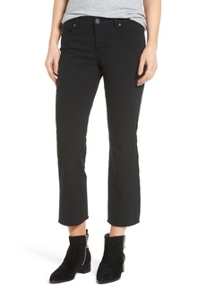 BLANKNYC Canvas Cropped Kick Flare Jeans