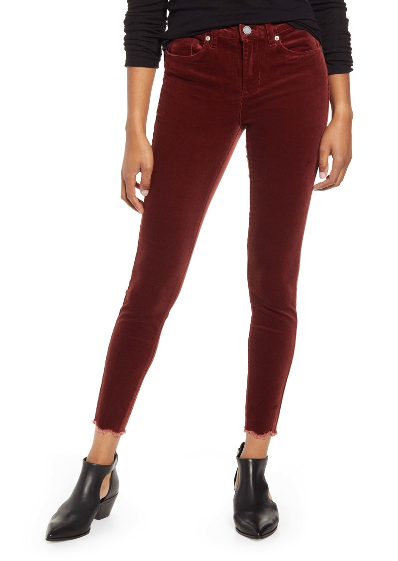 BLANKNYC Claret Madison Crop Cord Pants