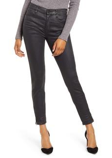 BLANKNYC Coated Ankle Skinny Jeans (Spartacus)