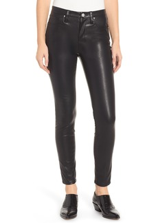 BLANKNYC Coated Faux Leather Skinny Pants