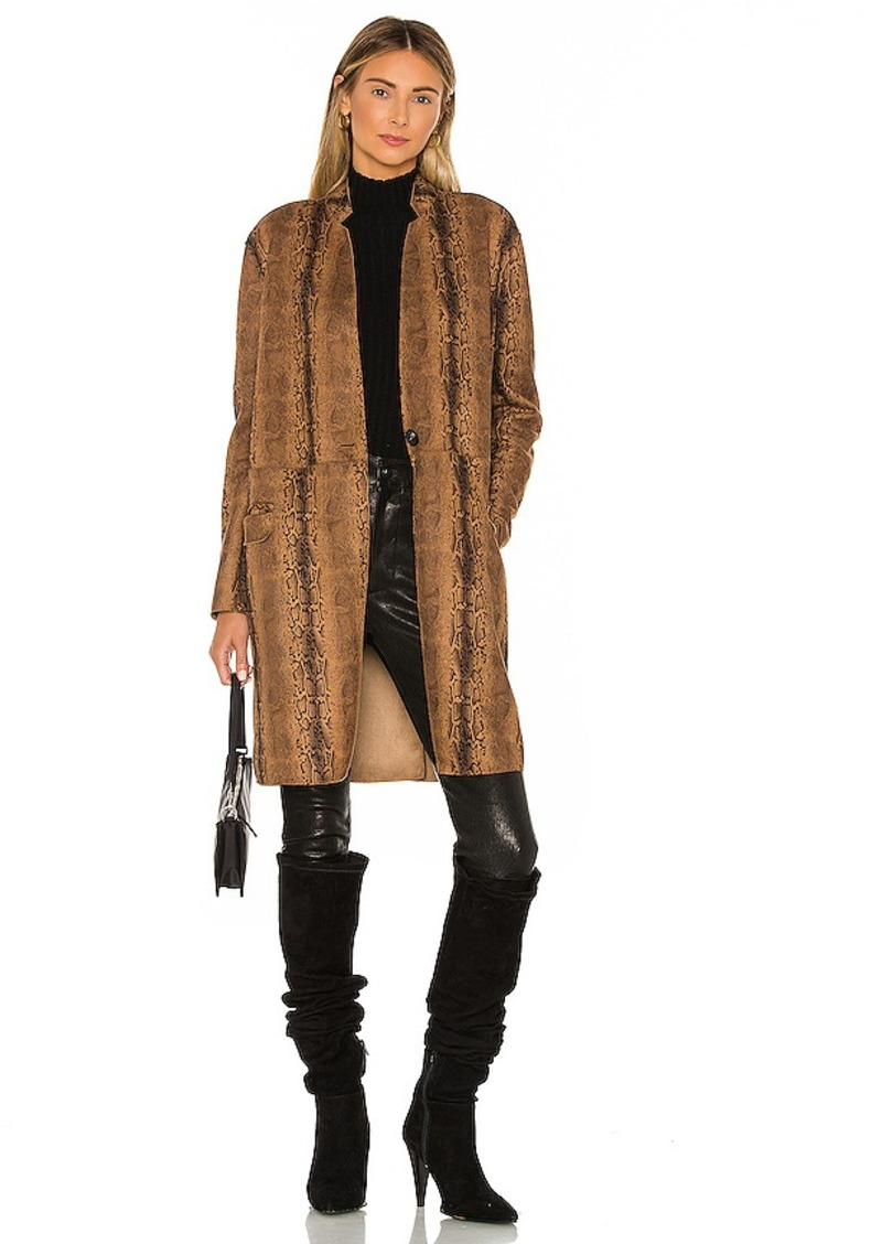 BLANKNYC Copperhead Faux Leather Coat