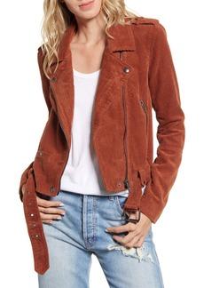BLANKNYC Corduroy Moto Jacket
