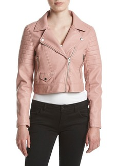 BLANKNYC® Cropped Moto Jacket