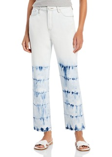 BLANKNYC Cropped Straight Leg Jeans in Manic Monday