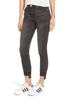 BLANKNYC Cry Baby Release Hem Skinny Jeans (Shade Parade)