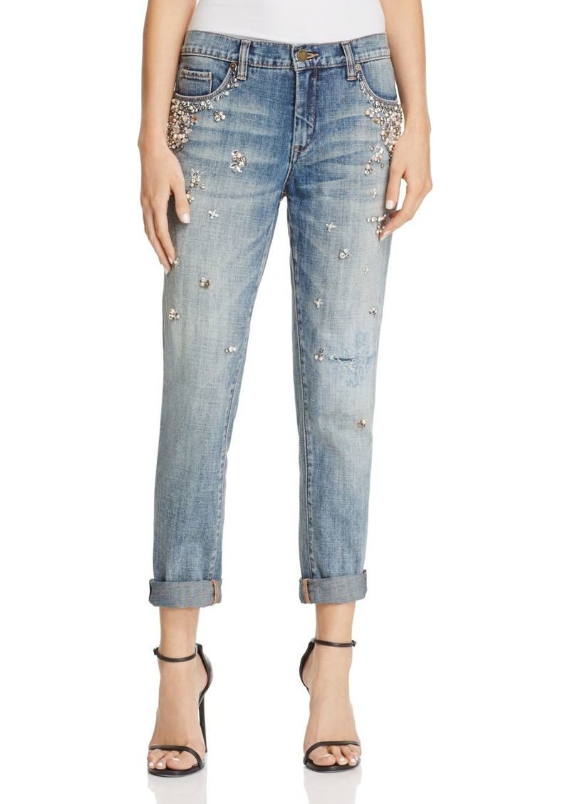 search for latest top-rated discount outlet boutique NYC Crystal & Faux-Pearl Embellished Jeans in Soul Mates - 100% Exclusive