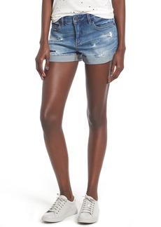 BLANKNYC Cuffed Denim Shorts (Weekend Warrior)