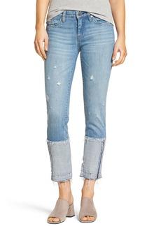 BLANKNYC Cuffed Straight Leg Jeans (Closet Case)