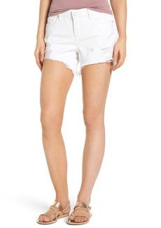 BLANKNYC Cutoff Denim Shorts (Lightbox White)