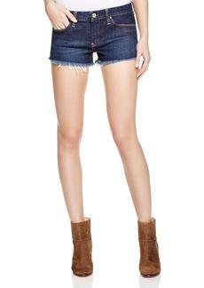 BLANKNYC Cutoff Shorts in Dark Wash