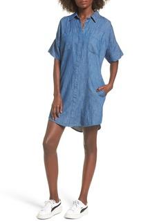 BLANKNYC Denim Shirtdress
