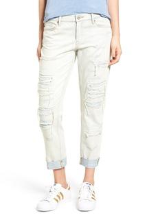 BLANKNYC Ripped Girlfriend Jeans (Sunbaked)