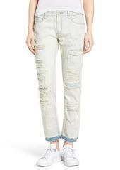 BLANKNYC Destroyed Girlfriend Jeans (Sunbaked)