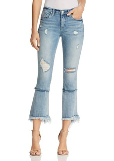 BLANKNYC Distressed Cropped Flared Jeans in Lose My Mind - 100% Exclusive