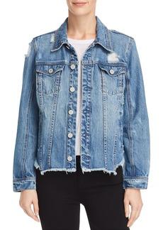 BLANKNYC Distressed Denim Jacket - 100% Exclusive