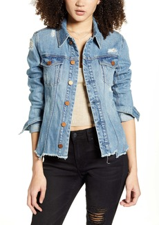 BLANKNYC Distressed Denim Jacket (Rise Above)