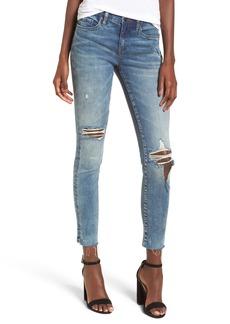 BLANKNYC Distressed High Waist Skinny Jeans (Shot Not)