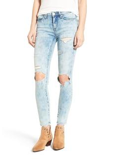 BLANKNYC Distressed Skinny Jeans (Happy Tears)