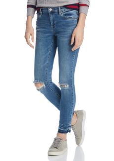 BLANKNYC Distressed Skinny Jeans in Dance Off