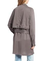 BLANKNYC Drapey Trench Coat