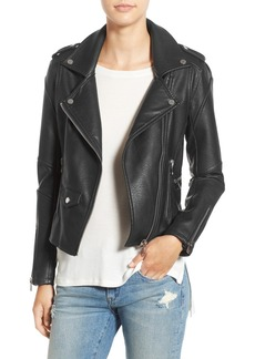 BLANKNYC 'Easy Rider' Faux Leather Moto Jacket