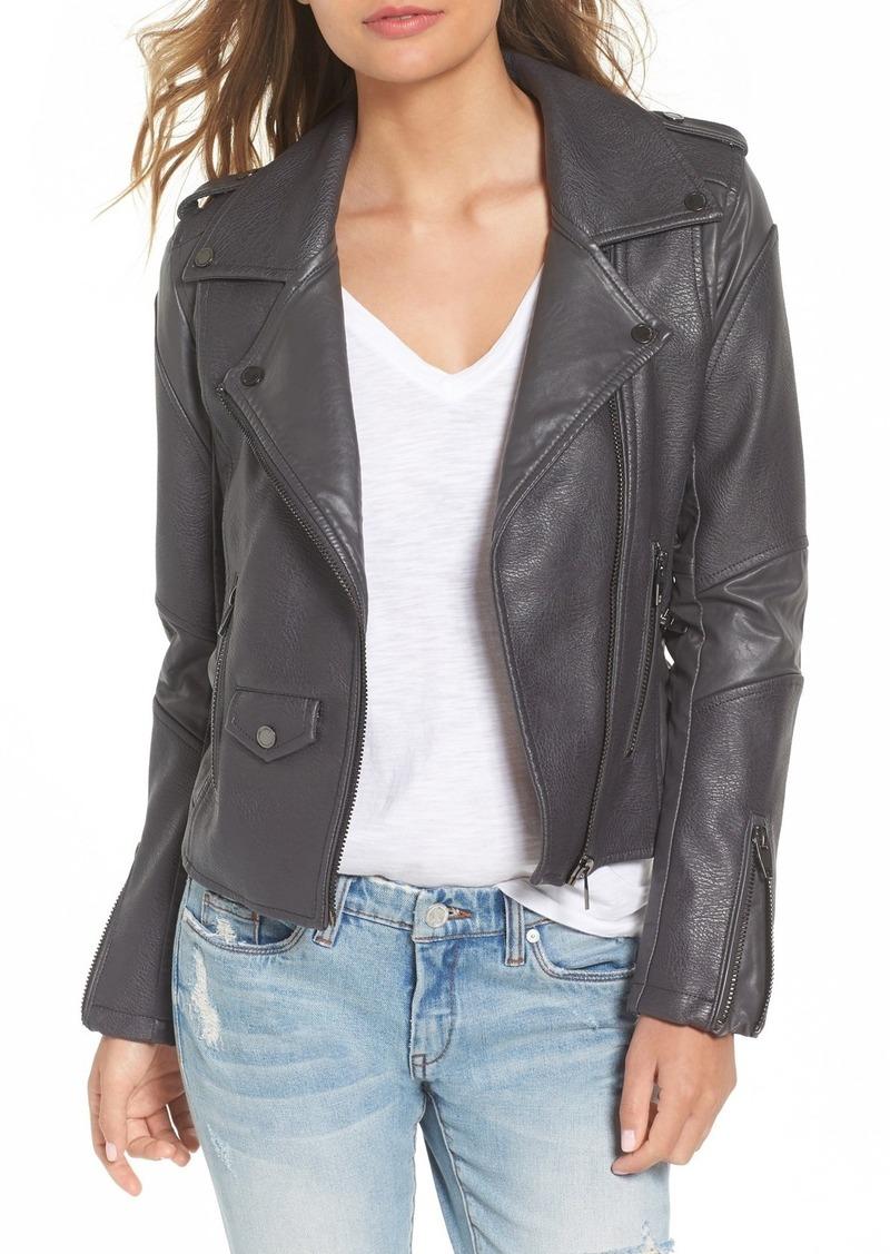 0a6d9fc1c77 Blank BLANKNYC  Easy Rider  Faux Leather Moto Jacket