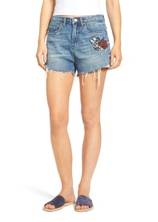 BLANKNYC Embroidered Denim Shorts (Inside Joker)