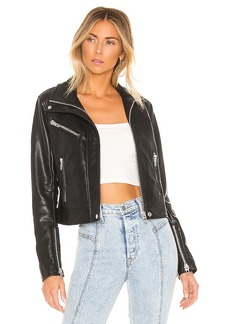 BLANKNYC Essentials Faux Leather Jacket