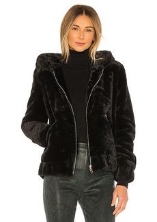 BLANKNYC Faux Fur Bomber